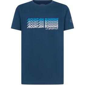 La Sportiva Mountain Running T-shirt Herrer, blå